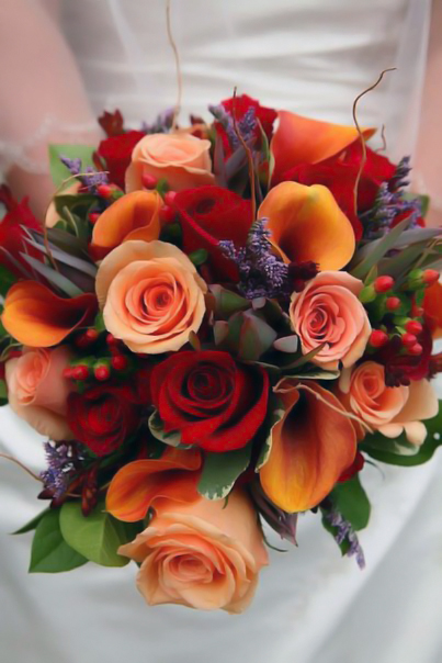 Букет невесты №15, букет невесты,