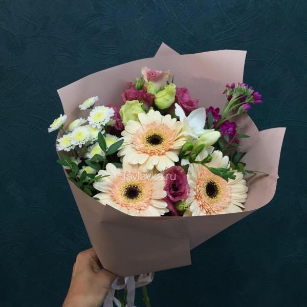 Букет №137, букет на 1 сентября, букет учителю, цветы на 1 сентября,