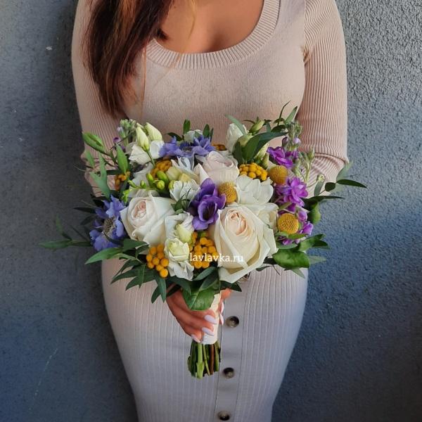 Букет невесты 41, авторский букет, Букет для невесты, букет невесты, бутоньерка, свадебный букет, Свадьба, стильный букет, стильный букет невесты,