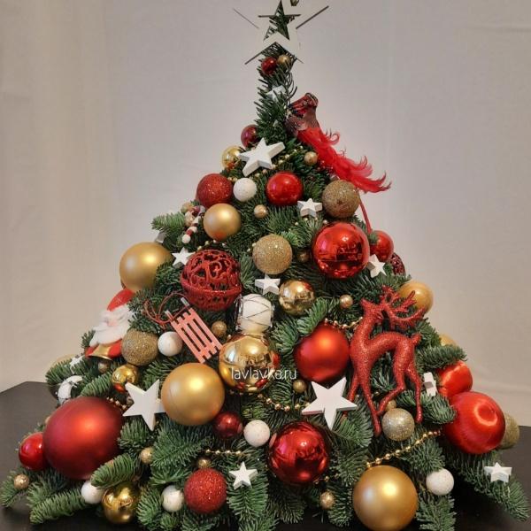 Новогодняя композиция 83, большая новогодняя композиция, елка, Елки спб, корпоративные новогодние подарки, корпоративный новогодний букет, купить новогодний подарок, новогоднее настроение, новогоднее оформление, новогоднее оформление офиса, новогоднее украшение, новогоднее украшение для дома, Новогоднее украшение для офиса, новогодние венки, Новогодние елочки, новогодние композиции, новогодний букет, Новогодний подарок директору, новогодний подарок коллеге, новогодний подсвечник, новогодняя ель,