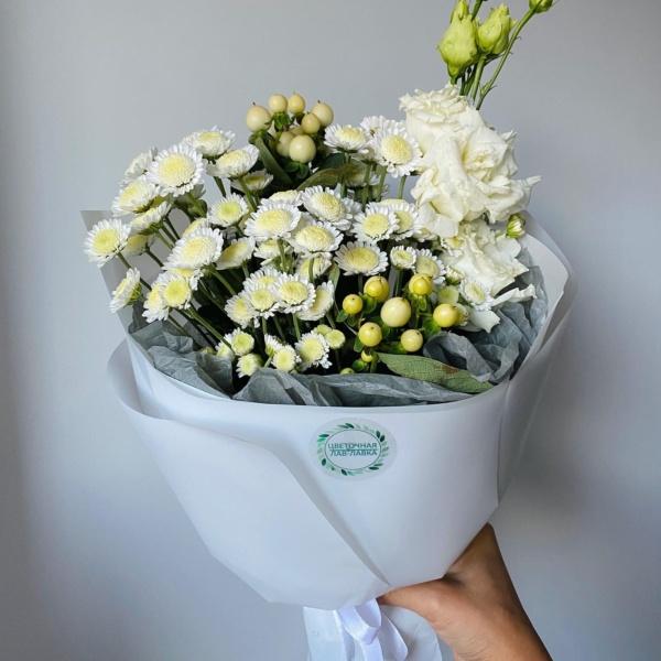 Букет № 80, букет для учителя, букет на 1 сентября, букет учителю, цветы на 1 сентября, цветы на 8 марта,